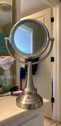 Double Sided Lighted Makeup Mirror