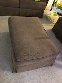 brown fabric padded sofa chair Montgomery Village, 20886