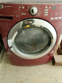 red front load washing machine Vaughan, L4J 8R7