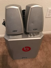 Boston Speakers with Subwoofer