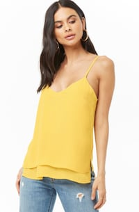 $10 Summer Yellow Layered Camisole Toronto