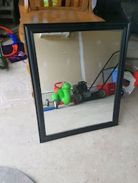Rectangle mirror in black frame Angus, L0M 1B3