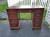 Solid wood desk Ashburn