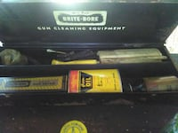 Vintage Riffle cleaning kit