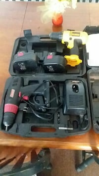black and red cordless power tools on box Frederick, 21702