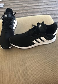 11.5 black-and-white adidas sneakers Tempe