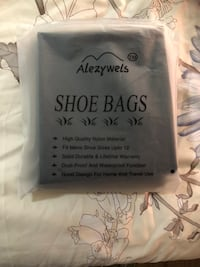 Shoe bags 3 pieces