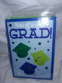 Graduation card, pick up in Summerfield