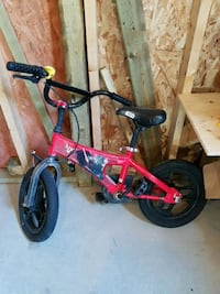 children's red and black bicycle Winnipeg, R2X 1A9