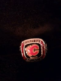 Calgary flames stanley cup molson beer ring