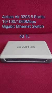 Airties air 0205 Gigabit ethernet Switch  Balat Mahallesi, 16140