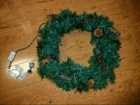 Light up wreath  130 mi