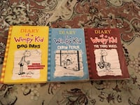 3 Diary of a Wimpy Kid by Jeff Kenny books