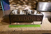 Dog food and water dish Edmonton, T5Z 2M1