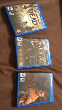 Three PlayStation Vita Telltale Games College Park, 20740