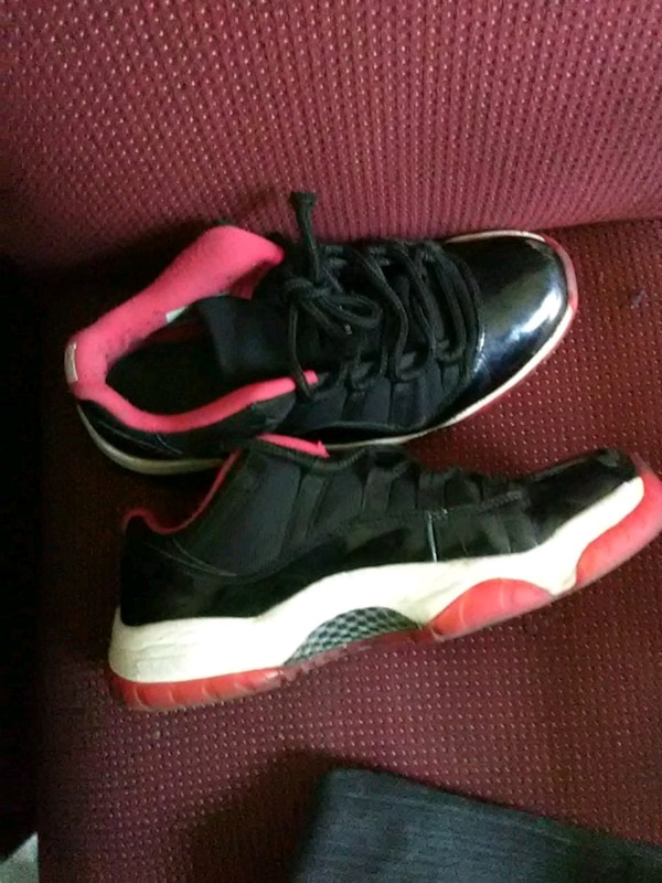 903e685a6098 Used pair of black-and-red Air Jordan 11 for sale in Atlanta - letgo