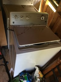 white front-load clothes washer Newport News, 23602