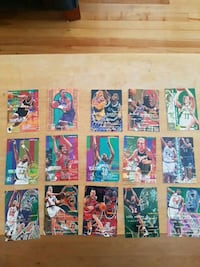 Fleer NBA cards '96 Laval, H7W 4J9