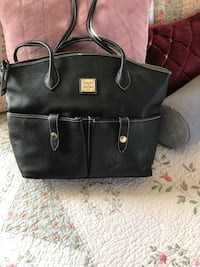 black leather 2-way bag Los Angeles, 90047