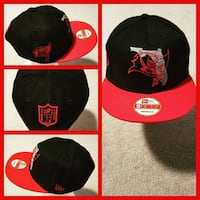 red and black New Era 9fifty cap collage Washington, 20019
