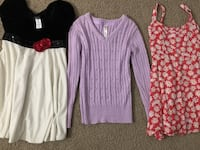 Size 7/8 girl clothes  Cypress, 90620