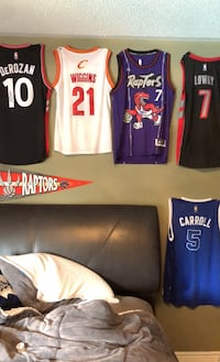 Signed Authentic NBA Basketball Jerseys! Message for detail Vaughan, L4J 7S2