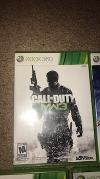 Xbox 360 Call of Duty MW3 case Silver Spring, 20902