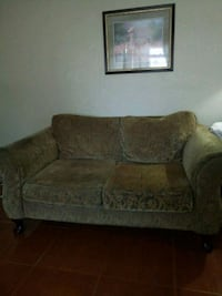 brown and gray floral 2-seat sofa Fresno, 93723
