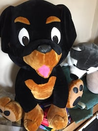 Giant Stuffed Animal Dog