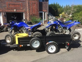 CASH PAID,bikes ,quad ,side-by-side ,etc.