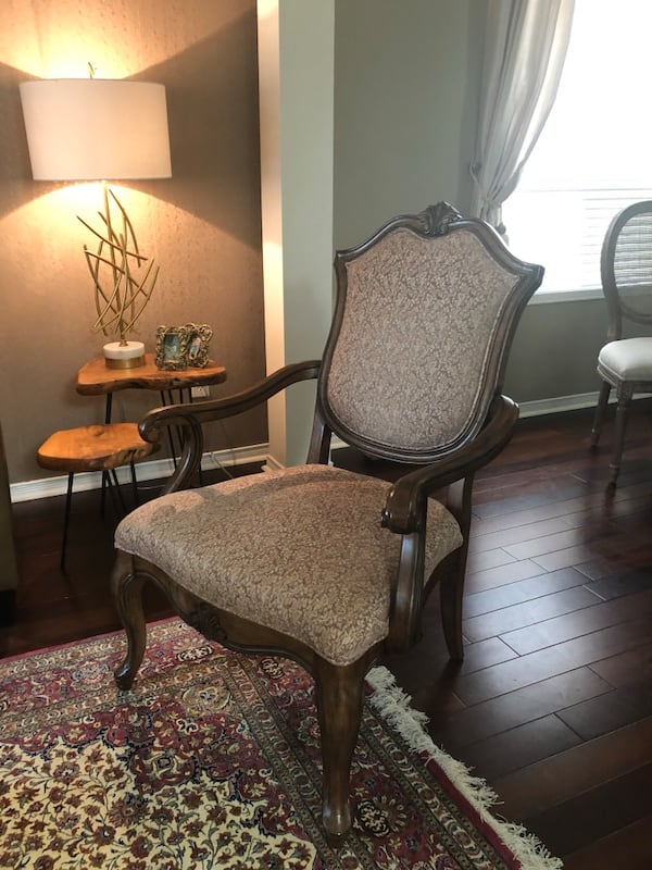 Two armchairs $350 each or $600 both 3