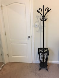 Frontgate heavy duty wrought iron clothes tree