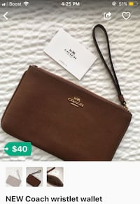 NEW Coach wristlet wallet Hyattsville, 20782