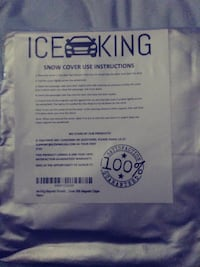 ICE KING SNOW COVER Laurel, 20707