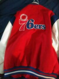76ers throwback jacket