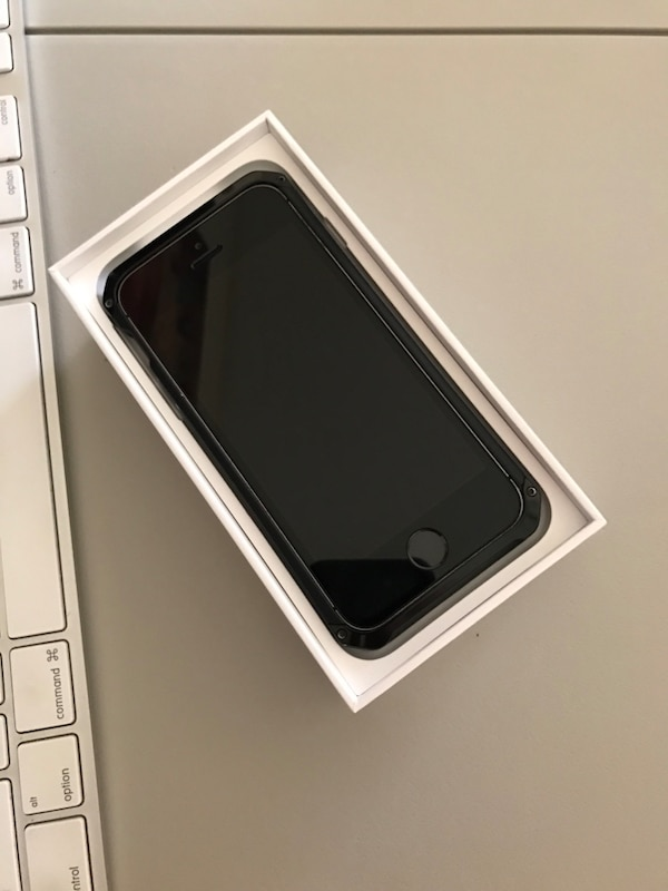 new product 19af1 ecc9d Space gray iPhone 5s 64GB unlocked w/Element Case