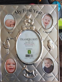 Photo frame baby's first year  Whitby, L1N