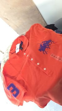 red and purple XL polo shirt Goffstown, 03045