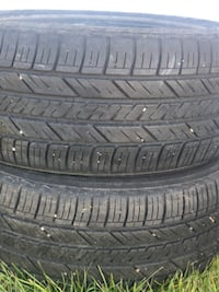 225/55/16 /.  2 new tires Goodyear's