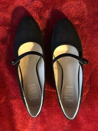 Marks & Spencer (London) black Mary Jane round toe Kitten heels North Potomac, 20878
