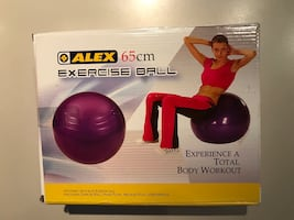 NEW: Exercise Ball.