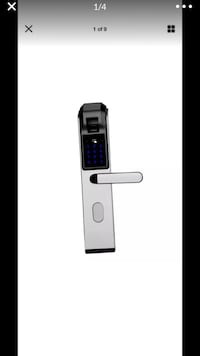 Fingerprint door knob Bel Air, 21014