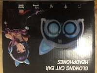 Cat ear headphones  Toronto, M3H 2J4