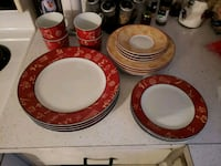 MOVING SALE. 20 PIECE NEVER USED DISH SET Montreal, H9H 1E3