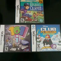 3 - Nintendo ds games $12 each or $30 for all 3 Edmonton, T6X 0R1