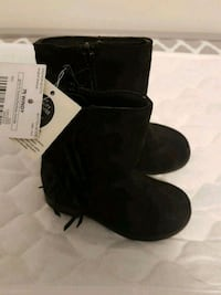 New Toddler black suede boots Calgary, T3N 0E4