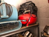 Red and black craftsman air compressor Baltimore, 21216