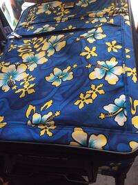 blue, yellow, and green floral textile Portland, 97219