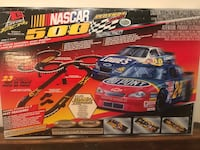 2001 Life-Like NASCAR 500 Legend Series HO Scale Slot Car Race Set # 9540