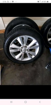 SUV TIRES with rims (GUC) Calgary